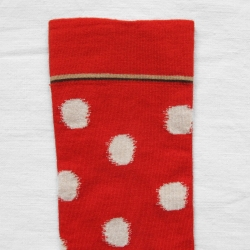 Blood orange Polka dots