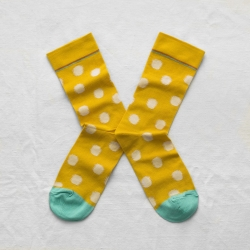 Sulfur Yellow Polka Dot
