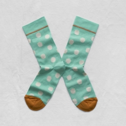 Mint Green Polka Dot