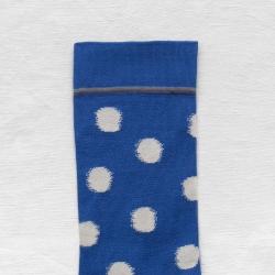 Cobalt Blue Polka Dot