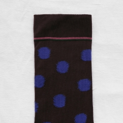 Dark Brown Polka Dot