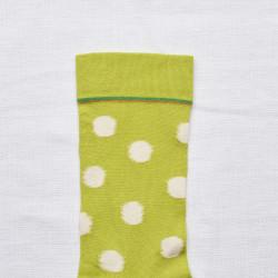 Chartreuse Polka Dot