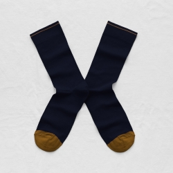 socks - bonne maison -  Plain - Night - women - men - mixed