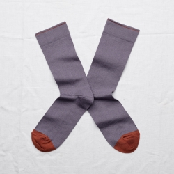 socks - bonne maison -  Plain - Nocturnal - women - men - mixed