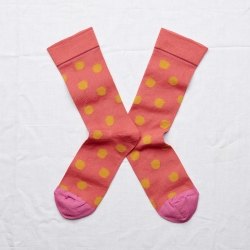 Wilted Red Polka Dot