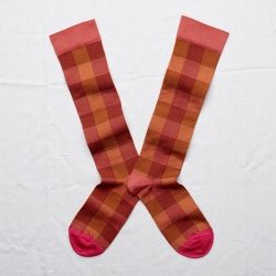 Knee-highs Wilted Red Check