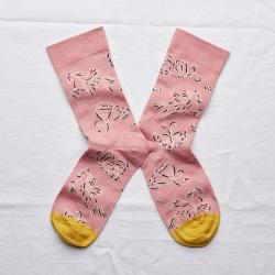 Socks Peach Pink Pegasus