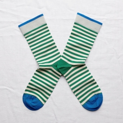 Socks Emerald Stripe
