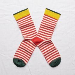 Socks Blood Orange Stripe