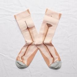 Socks Rosebud Pink Statue