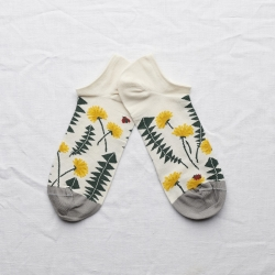 Ankle Socks Natural Dandelions