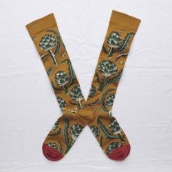 chaussettes - bonne maison -  Artichaut - Cannelle - femme - homme - mixte