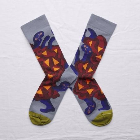 chaussettes - bonne maison -  Monstre - Orage - femme - homme - mixte