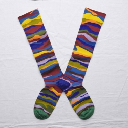 socks - bonne maison -  Wave - Multico - women - men - mixed