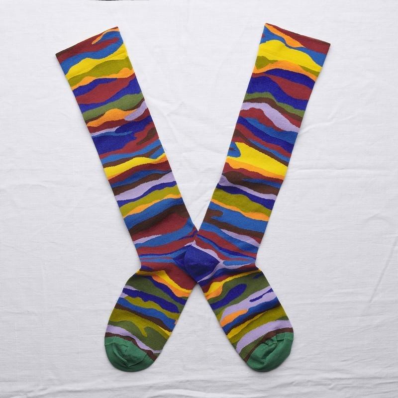 chaussettes - bonne maison -  Vague - Multico - femme - homme - mixte