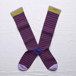 chaussettes - bonne maison -  Rayure - Matisse - femme - homme - mixte