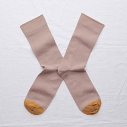 socks - bonne maison -  Plain - Nude - women - men - mixed
