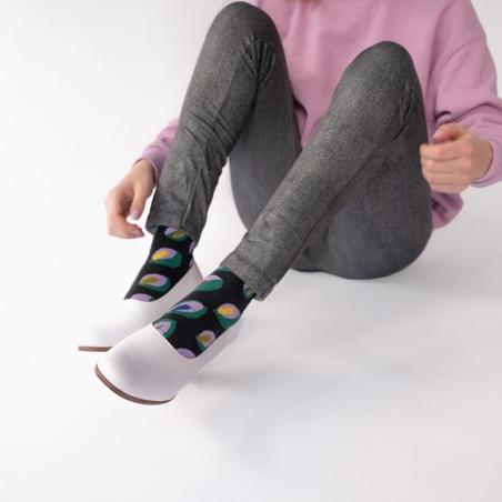 Socks Dark Leaf