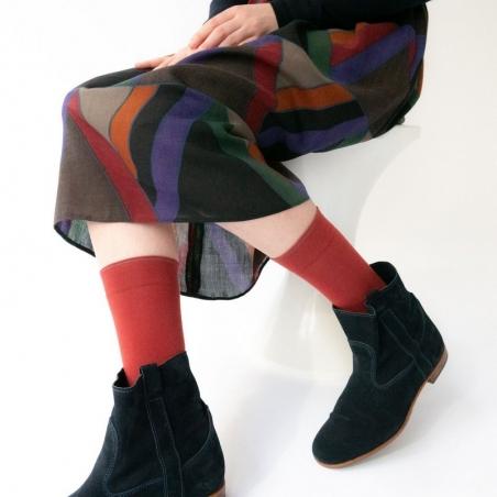 Socks Crimson