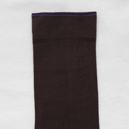 Socks Dark Brown