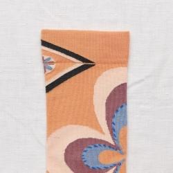 socks - bonne maison -  Rosette - Adobe - women - men - mixed