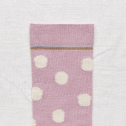 socks - bonne maison -  Polka Dot - Storm - women - men - mixed