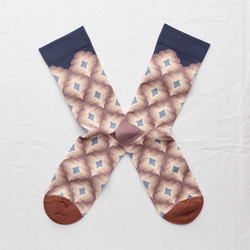 socks - bonne maison -  Arabesque - Multico - women - men - mixed