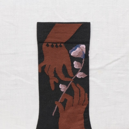 socks - bonne maison -  Hand - Night - women - men - mixed