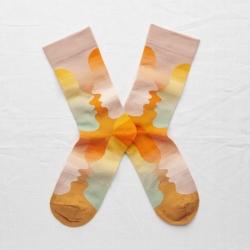 chaussettes - bonne maison -  Visage - Multico - femme - homme - mixte