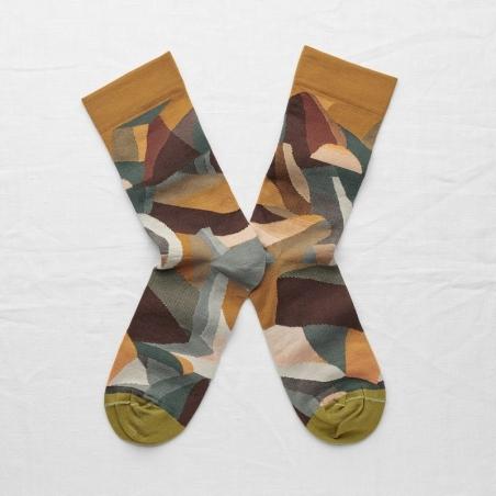 chaussettes - bonne maison -  Montagne - Multico - femme - homme - mixte