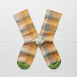 chaussettes - bonne maison -  Carreaux - Multico - femme - homme - mixte
