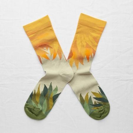 socks - bonne maison -  Sunbeam - Multico - women - men - mixed