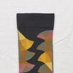 socks - bonne maison -  Palm - Night - women - men - mixed