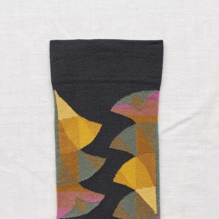 chaussettes - bonne maison -  Palme - Nuit - femme - homme - mixte