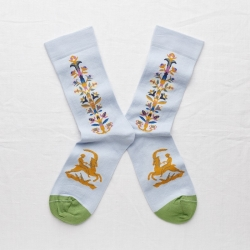 socks - bonne maison -  Stick - Sky - women - men - mixed