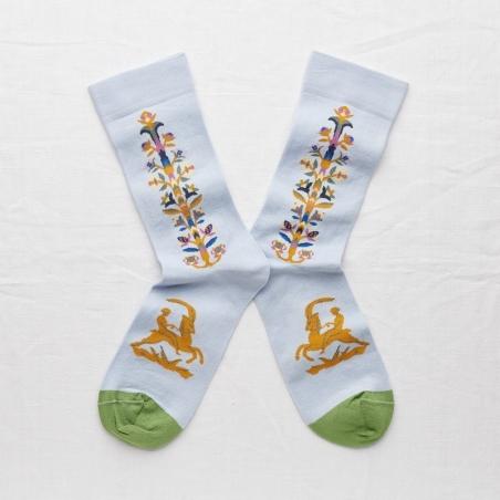 socks - bonne maison -  Stick - Sky - women - men - mixed