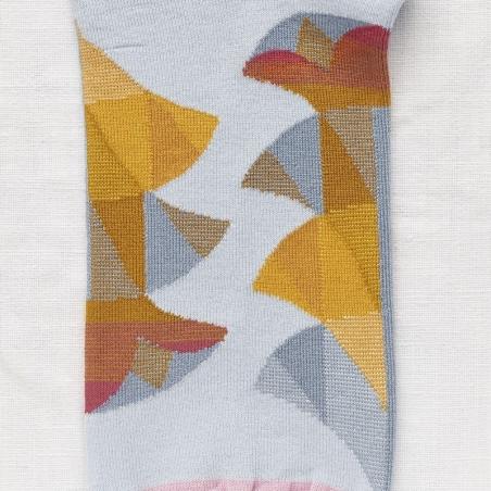 socks - bonne maison -  Palm - Sky - women - men - mixed
