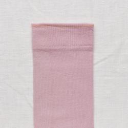 chaussettes - bonne maison -  Uni - Bois de rose - femme - homme - mixte