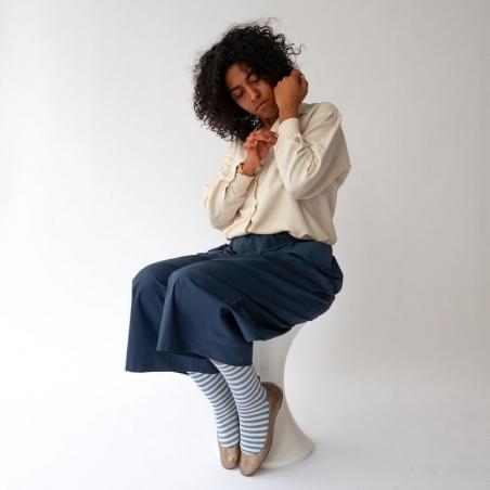 chaussettes - bonne maison -  Rayure - Orage - femme - homme - mixte