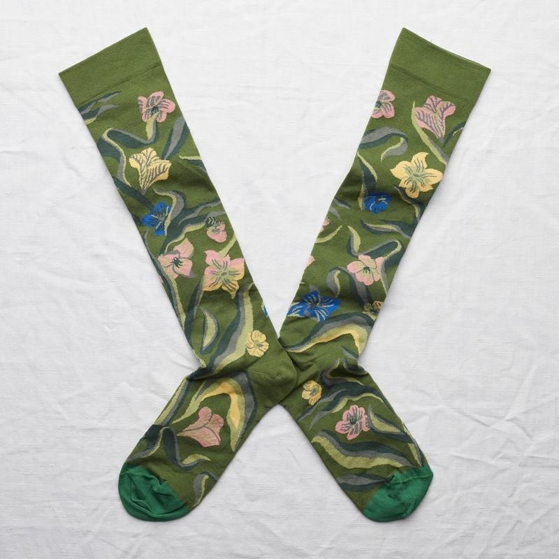 socks - bonne maison -  Narcissus - Cactus - women - men - mixed