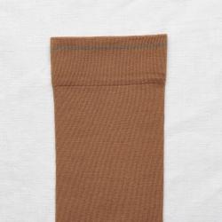 chaussettes - bonne maison -  Caramel - Uni - femme - homme - mixte