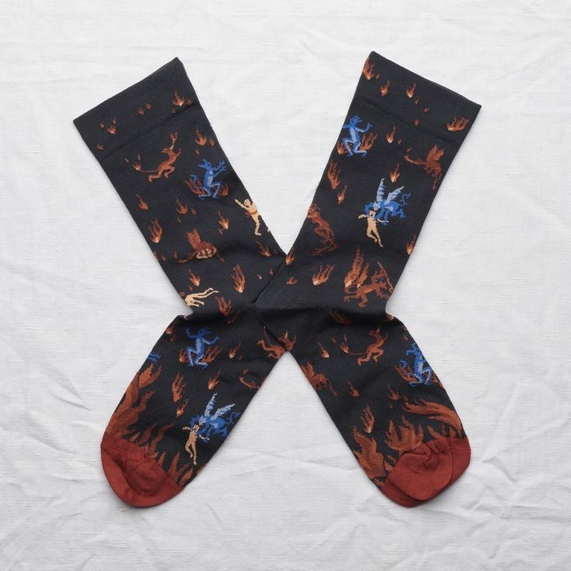 chaussettes - bonne maison -  Enfer - Nuit - femme - homme - mixte
