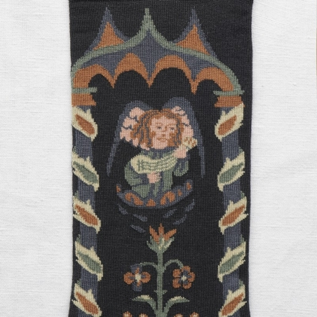 socks - bonne maison -  Angel - Dark - women - men - mixed