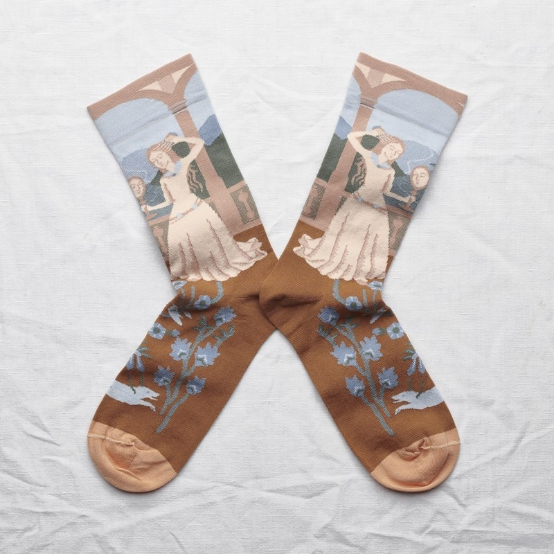 socks - bonne maison -  Princess - Sky - women - men - mixed