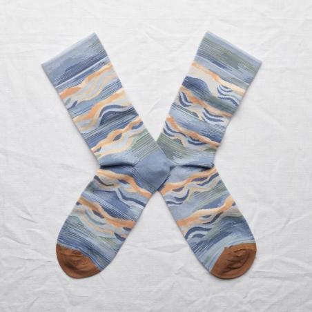 socks - bonne maison -  Wave - Storm - women - men - mixed