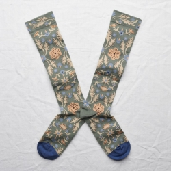 socks - bonne maison -  Tapestry - Cedar - women - men - mixed