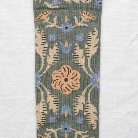 socks - bonne maison -  Tapestry - Cedar - women - men - mixed