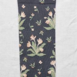 socks - bonne maison -  Bouquet - Steel - women - men - mixed