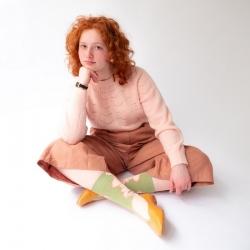 chaussettes - bonne maison -  Nue - Mousse - femme - homme - mixte