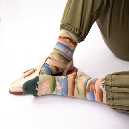 chaussettes - bonne maison -  Paysage - Ciel - femme - homme - mixte